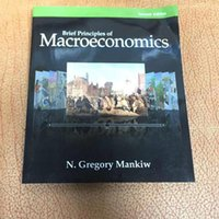 Wholesale 2016 NEW Brief Principles of Macroeconomics by N Gregory Mankiw Christmas Gift