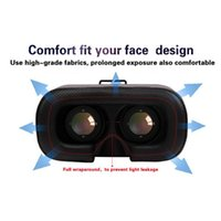 Wholesale Wonderful D Glasses for inch Smartphone Google Cardboard Oculus Drift VR D Glasses with