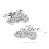 best bike motor - Motorcycle Cufflinks retail Novelty Silver Motor Bike Design Quality Brass Material Best Gift