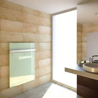bathroom wall panels - 4 pieces W Glass Infrared Heating Panel Carbon Crystal heater for bathroom livingroom