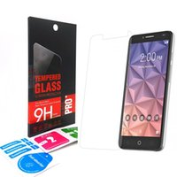 alcatel onetouch - Anti Scratch Protective Film Guard H Tempered Glass Screen Protector For Alcatel One Touch Pop C9 C7 C5 IDOL OneTouch fierce XL