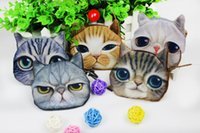 Wholesale Lovely Cats Coin Purses Designs for Choose Zipper Wallets Fashion D Cute Cartoon Woman Girls Mini Purse