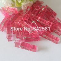baby clothespins - PINK PLASTIC MINI CLOTHES PEGS CLOTHESPINS PACK GIRLS BABY SHOWER DECORATION