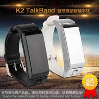 apples information - K2 smart bracelet wristband bluetooth talkband with pedometer sleep monitoring information notification support Android iPhone s s plus