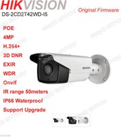 Wholesale hikvision DS CD2T42WD I5 POE P MP EXIR WDR Outdoor IR m Bullet IP Camera