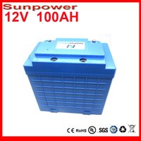 battery power supply system - LiFePo4 V100Ah rechargeable li ion battery for house solar power supply system electric bike battery