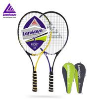 Wholesale Piece Aluminum Carbon Fiber Tennis Rackets Lenwave Brand Sports Training Equipment