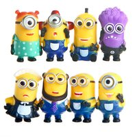 Wholesale Despicable Me The Minions Role Action Figure Toys PVC Minifigures Set