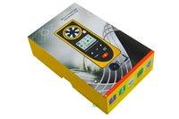 Wholesale Newest GM8910 Multi functional Digital Anemometer For Temperature Humidity Measure Atmospheric Illumination Intensity Meter