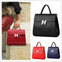 acrylic polyester fabric - High grade New handbag patent leather stereotypes handbag fashion Shoulder Messenger BAG94