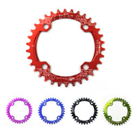 bicycle parts chainwheel - SNAIL Round BCD T T T T Chainring Ultralight MTB Bicycle Crankset Plate A7075 Chainwheel Bike Circle Chain Wheel Part