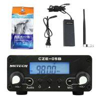 Wholesale NKTECH FM transmitter FMU CZE B mW mW W Mhz Home Dual Mode Long Range Stereo FM Transmitter