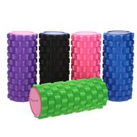 Wholesale Hot EVA Foam Roller Yoga Pilates Exercise Home Gym Massage Yoga Roller Fitness Exercise Block for Massage Muscle Relax