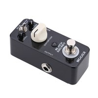 Wholesale Mooer High Quality Yellow Comp Varimolo Black Secret Micro Mini Electric Guitar Effect Pedal True Bypass Only for RU