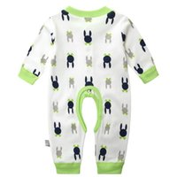 Wholesale Baby Clothing New Newborn Baby Boy Gril Romper Clothes Long Sleeve Infant Product