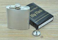 Wholesale 2016 hot ounce stainless steel hip flask alcohol flask pocket flask wine flask liquor flask DHL