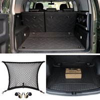 Wholesale 1pcs For Toyota FJ Cruiser Rear Trunk Cargo Organizer Storage Nylon Net Plain Net dec LJ