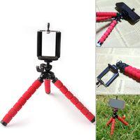 Wholesale 2016 original mini Octopus tripod Universal portable Flexible Mini Tripod Stand Mount Bracket Holder Monopod For cell phone camera with clip