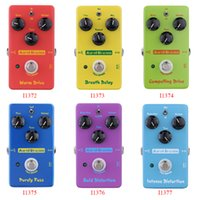 Wholesale Aural Dream Electric Guitar Effect Pedal Smart Single Effect with True Bypass Breath Delay Warm Drive Compelling Drive