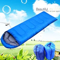 Wholesale Protable Spring Summer Traveling Moistureproof Outdoor Camping Hiking Sleeping Bag Quilt with Cap