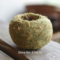 ball preserving - Kokedama Moss Balls Bonsai Japanese Moss Ball With Moss Seeds Preserved Moss Balls Personality Small Flower Pot