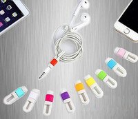 apple iphone earpods - Earphone Cable Winder Silicone Rubber EarPods Earphones Headphone Cable Bobbin Cord Winder Organizer Holder for iPhone