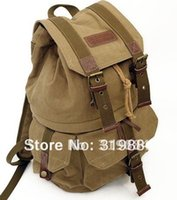 Wholesale CANVAS SHOULDERS BAG CASE Backpack FOR CANON SONY DSLR CAMERA