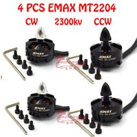 Wholesale SGLEDs Original Emax MT2204 KV Brushless motor CW CCW for FPV Multirotor Quadcopter rc helicopter copter with camera part