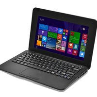 10.1 inch tablet laptop - High Quality quot Win10 mini Netbook Quad core GHz GB GB MP Camera Laptop notebook hot sale