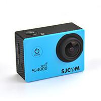 Wholesale New SJCAM SJ4000 inch LCD Display P MP WIFI Original Sports DV Cam Action Recording Camera SJCAM SJ4000