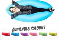 Cheap 8 Colors 2016 Lamzac Hangout Fast Inflatable Air Sleep Camping Bed KAISR Beach Sofa Lounger Sleeping Bag Lazy Chair