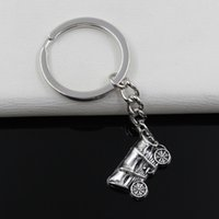 antique wagons - Fashion diameter mm Key Ring Metal Key Chain Keychain Jewelry Antique Silver Plated covered wagon conestoga mm Pendant