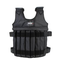 Wholesale Weight Jacket kg Weighted Vest Train Waistcoat Adjustable Sanda Exercise Martial Boxing Invisible Weightloading Sand Clothing order lt no
