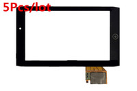 Wholesale 5Pcs For Acer Iconia Tab A100 A101 Front Touch Panel Touch Screen Digitizer Glass Lens Replacement Repairing Parts Good Working