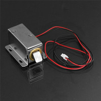 Wholesale 12V V Electronic Door Lock Small Electric Locks Cabinet Locks Drawer Small Electric Lock Rfid Access Control