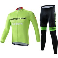 bicycle long pants - Winter Cycling Jersey Set GRAMIN Team Pro Long Sleeve Bicycle Clothing Ropa Ciclismo Sportwear Mtb Jerseys Ciclismo With Padded Pants