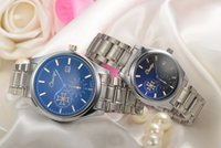 auto glass with price - CHAXIGO luxury quality blue glass stainless steel band watch waterproof watches cheap price with good quality