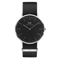 Wholesale The New Black Face Watch Men Brand Luxury Fashion Casual Nylon Strap Wristwatch Quartz Watch Women Ladies Dress Watch Sport Military Watches
