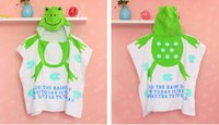 animal nissen cartoon - Nissen Baby Hooded Bathrobe Summer Thin Robes Lovely Hooded Hoody Baby Bath Towel Robe Kids Cartoon Animals Bath Towels Sleeping Quilt