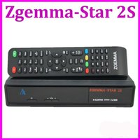 Wholesale Zgemma Star S Digital Satellite Receiver with Two DVB S2 Tuner Enigma2 Linux System Zgemma star S
