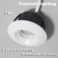bathroom promotions - 4 pieces New store promotion Trustwin brand dimmable optional W micro small mini led ceiling downlight