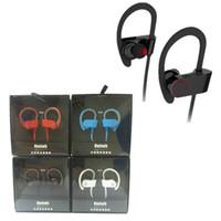 Wholesale New Hot Earphone Headset Wireless Sport Bluetooth Earphone Stereo Earplugs with Microphone For iPhone Samsung LG XiaoMI