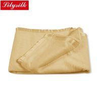 Wholesale Lilysilk Silk Blanket Grade A Pure Mulberry Beauty Skin Care Yellow Pink Orange