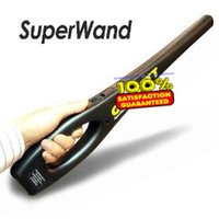 alarm scanners - Choice of alarm Best metal detector super wand handheld body scanner adopting audible and vibrate with red LED
