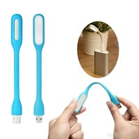 Wholesale PC Power bank partner Portable LED Light Bendable Mini Lamp USB PORT E00146 SPDH