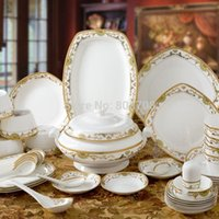 Wholesale Jingdezhen high grade bone china tableware phnom penh tableware