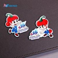 basketball magnet - 2015 Asian Basketball Championship Mascot Refrigerator Magnets Cute Cartoon Figure Basketball Athlete