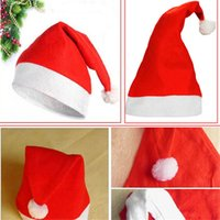 activities weaves - Christmas products Felt non woven Christmas hat Adult general code Christmas products activity party Christmas hat