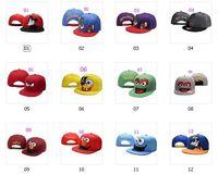 baseball cap pictures - 12 Color Styles Cartoon Picture Snapbacks Hip Hop Hats Baseball Caps Adjustable Snapbacks Mens Womens Caps Top Quality Hats