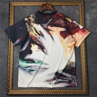 anti graffiti - Men s Fashion T shirt summer Graffiti art short sleeve T Shirt t shirt men top cotton shirt Casual High Quality